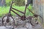 The 'burned' bike